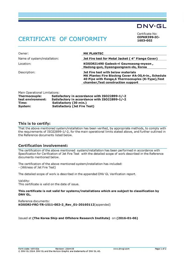 certificate-of-conformity-jet-fire-test-oipkr399-ic-1603-002 - MK ...